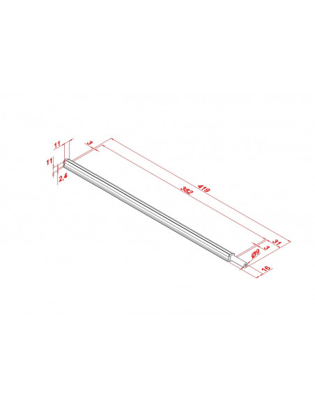 TFC 400 Neck Truss Rod
