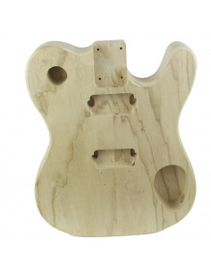 Electric Guitar Finished Swamp Ash style Telecaster body