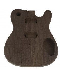Finished Wengue Style Telecaster Body
