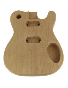 Finished Cedar Style Telecaster Body