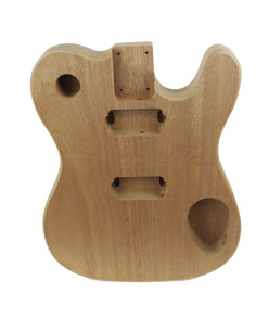Electric Guitar Finished Sapele Style Telecaster Body (1piece)