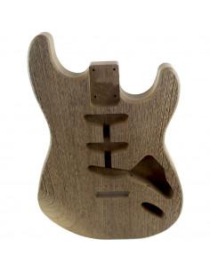 Cuerpo acabado Wengue estilo Stratocaster