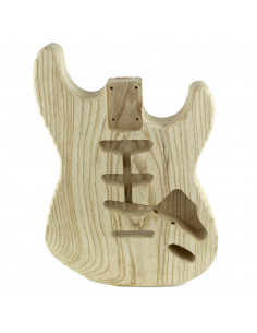 Finished style Stratocaster electric guitar Swamp ash body (1 piece)