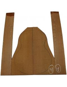 Brazilian Lacewood Set No. 4 for Classic