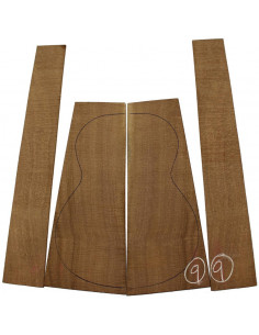 Brazilian Lacewood Set No. 9 for Classic