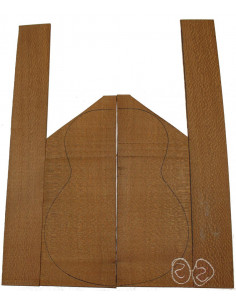 Brazilian Lacewood Set No. 2 for Classic