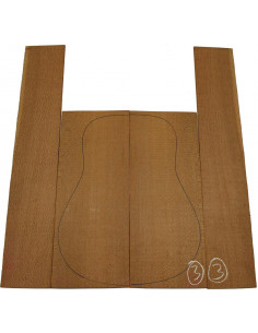 Brazilian Lacewood Set No. 3 for Acoustic