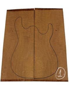 Sapele Pomele Body Top No. 1 for Electric Guitar