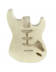 Stratocaster Maple Finished Body (2 pieces)