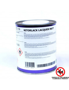 Laca Mate NITORLACK (0,75ml)