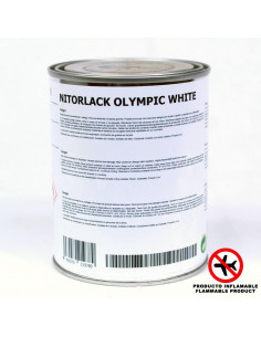 NITORLACK Olympic White (500ml)