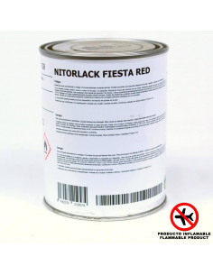 NITORLACK Fiesta Red (500ml)