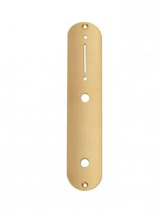 Placa electrónica dorada brillante estilo Tele