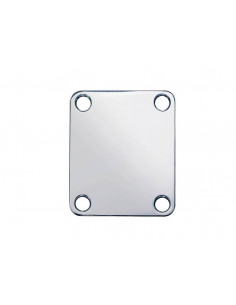 Rectangular nickel neck mounting plate