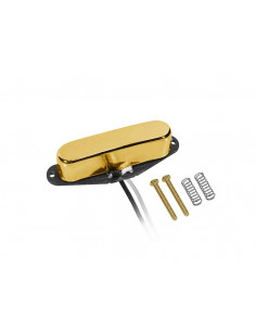 Gold vintage single coil pickup St style