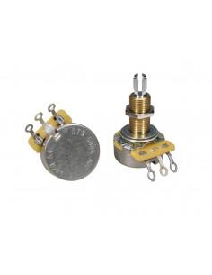 Potenciómetro de audio CTS USA 500 K casquillo largo