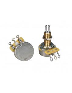 Potenciómetro de audio CTS USA 250 K casquillo largo