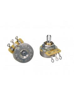 Potenciómetro de audio CTS USA 250 K casquillo corto