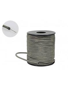 Cable con trenzado de algodón encerado cubierto de 50 pies