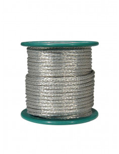 Braided 15 m shield wire