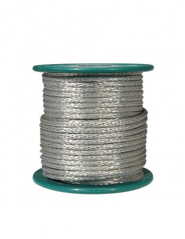 Braided 15 m shield wire