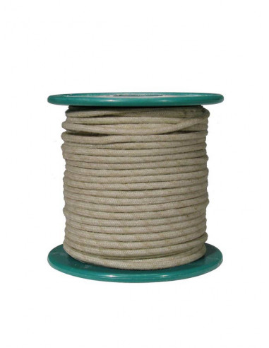 15 m white cloth covered wire