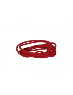 1 m red cloth covered wire