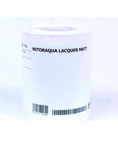 NITORAQUA Matte Lacquer (1l)