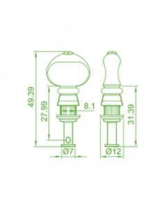 Clavijero Ukelele Ping Well® PT.402