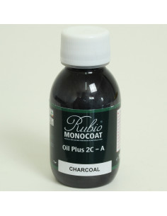Charcoal Color Natural Oil Finished