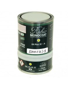 Emerald Color Natural Oil Finished