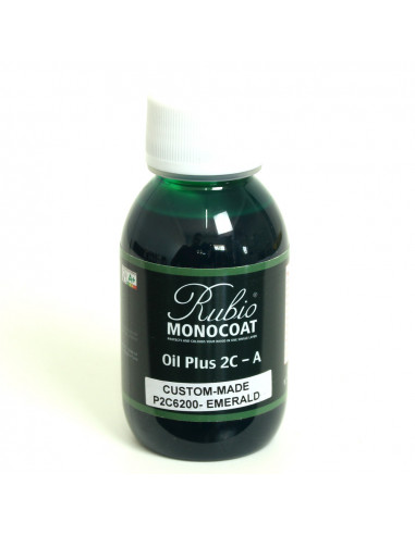 Emerald Color Natural Oil Finished