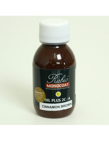 Cinnamon Brown Color Natural Oil Finished