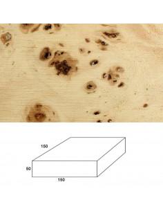 Burl Poplar wood for lathe