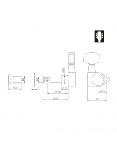Clavijero Ping Well® 1271CS
