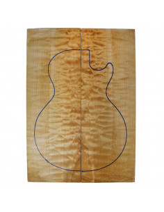 AA Quilted Maple Drop Top