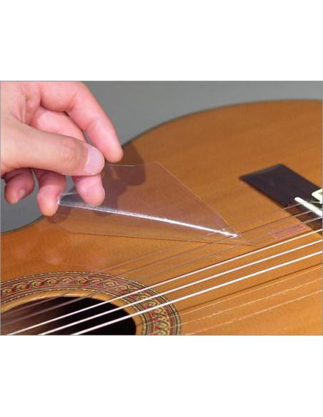 Transparent Pickguard Down Classic Guitar