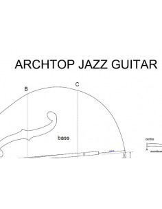 Archtop Jazz Guitar Plan