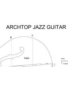 Plano Guitarra Archtop Jazz