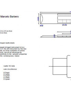 Marcelo Barbero Flamenco Guitar Plan