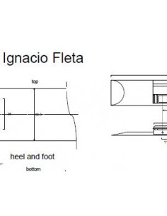 Plano Guitarra Clásica Ignacio Fleta