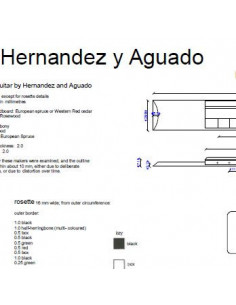 Hernandez and Aguado Classic Guitar Plan