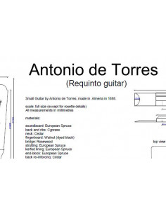 Antonio de Torres Requinto Plan