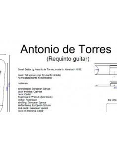 Plano Requinto Antonio de Torres