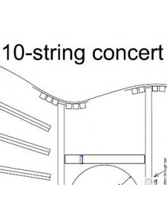 10 String Concert Guitar Plan