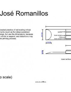 Jose Romanillos Classic Guitar Plan