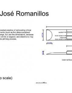 Plano Guitarra Clásica Jose Romanillos