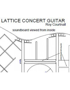Plano Guitarra de Concierto Lattice-Braced