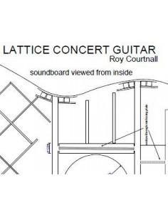 Plano Guitarra de Concierto Lattice-Braced