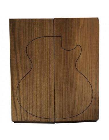 Cuerpo Fresno Torrefacto Guitarra Eléctrica / Bajo Electrónico